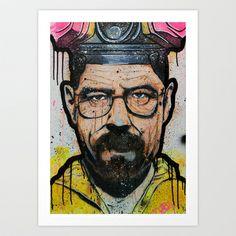 Heisenberg Art Print Promoters - $25.00