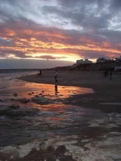 Las Grutas - Rio Negro - Atardecer en la playa - ecm