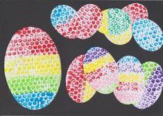Velikonoční tvoření s bublinkovou fólií Spring Crafts, Holiday Crafts, Diy For Kids, Decorative Plates, Projects To Try, Easter, Colours, Ms, Pictures