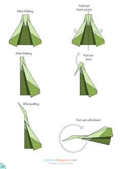 Don't spend a fortune on activity books for your kids this summer, print fun activity instructions instead! This origami paper airplane how-to Origami Paper Plane, Origami Toys, Origami Airplane, Airplane Crafts, Origami Instructions Step By Step, Paper Airplanes Instructions, Paper Airplane Steps, Paper Aircraft, Diy Crafts Hacks
