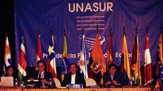 Presidente insiste en reunión UNASUR para tema Colombia-OTAN, la creyó, cayo en el juego de Santos, mejor que se ocupe de los bloqueos.