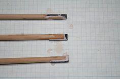 Build-a-long: Horn Reinforced Self-Nock Arrows (Finished Arrow) Traditional Recurve Bow, Long Horn, Crossbow, Archery, Arrows, Horns, Sticks, Shelves, Building