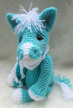 Cute Horse Crochet Pattern