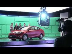 """1D on the set of the Toyota commercial<< Can we just take a second to talk about how cute Niall says """"Toyota""""??"""