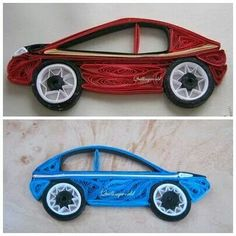 Quilled car