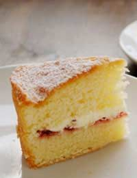 Sponge Cakes Cake Sugar Free uses only 3 tbsp honey   + a sugar free Jam for filling