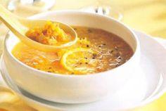 Lemon Lentil Soup Recipe Lemon Lentil Soup Recipe, Lentil Soup Recipes, Veggie Recipes, Vegetarian Recipes, Dry Beans Recipe, Cold Meals, Lebanese Recipes, Vegan Soups, Sans Gluten