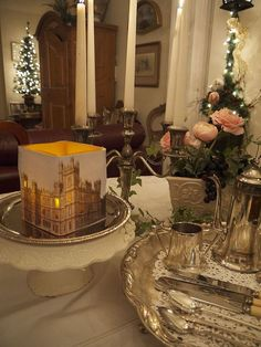 Downton Abbey Viewing Party Decor