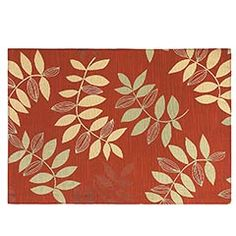 Red Leaves Placemat