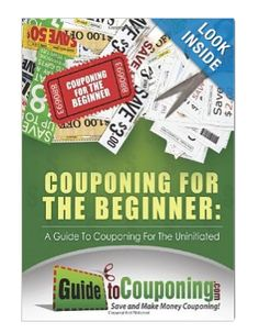 Couponing 101 Book