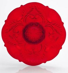 Red Cake Stand - Thistle