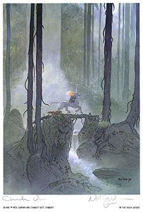 'Into the Deep Woods' by Charles Vess. ~ Greenman Press » Stardust Merchandise: