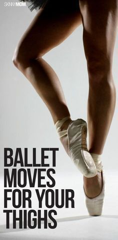 Blasting Ballerina Workout [VIDEO] Embrace your inner ballerina with this barre workout!Embrace your inner ballerina with this barre workout! Ballerina Workout, Ballet Barre Workout, Pilates Barre, Ballet Moves, Ballerina Legs, Thigh Toning Exercises, Toning Workouts, Stretches, Dancer Body Workouts