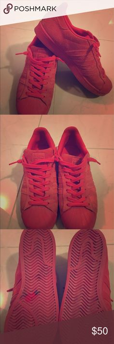 Adidas superstar All suede Only worn 3 times Adidas Shoes Sneakers