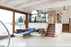Lovely Houseboat on the Amstel! - Huizen te Huur in Amsterdam, Noord-Holland, Nederland