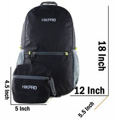 Amazon.com : #1 Rated Ultra Lightweight Packable Backpack Hiking Daypack + Most Durable Light Backpacks for Men and Women / THE BEST Foldable Camping Outdoor Travel Biking School Air Travelling Carry on Backpacking + Ultralight and Handy - 6.5 OZ Only + 5 Year Warranty! : Sports & Outdoors