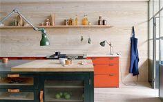 Tendências de decoração 2014: madeira compensada