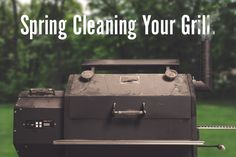 "Spring Cleaning Your Grill - ""There is a huge difference between seasoned and funky."" So true. #TeamYoder #KeepItClean"
