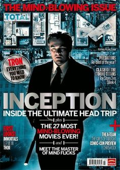 "Inception. Starring Leonardo di Caprio as Cobb, the Extractor.    ""Inception implanted into you the idea that reality may be a dream.""    ~ David Kyle Johnson, Ph.D."