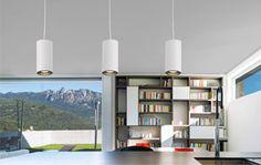 35€ Lámpara colgante fabricado en en aluminio con acabado en blanco. #lámpara #aluminio #blanco  Deskontalia Productos - Descuentos del 70%