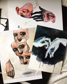 // p i n t e r e s t : ○Candy Milk● // Art Sketches, Art Drawings, Photo Humour, Art Vintage, Art Hoe, Ap Art, Sketchbook Inspiration, Art Inspo, Painting & Drawing