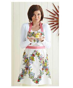 MARTHA HORROCKSES APRON Print Patterns, Apron, Textiles, Floral, Skirts, House, Fashion, Moda, Skirt