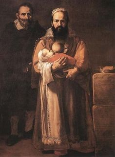 This is one of Ribera's most shocking works: the Bearded Lady