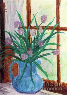 Vase and Violin (Desiree Paquette)