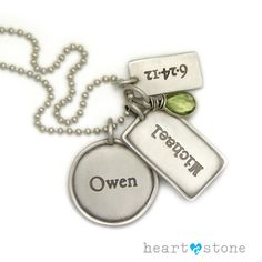 Build your own Charm necklace from Heart and Stone