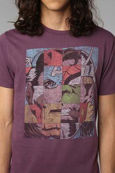 marvel heroes t-shirt