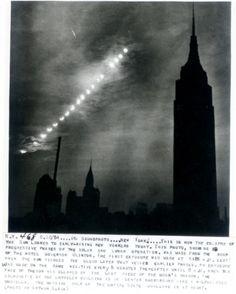 30 June 1954 ~ solar eclipse, New York City ∞