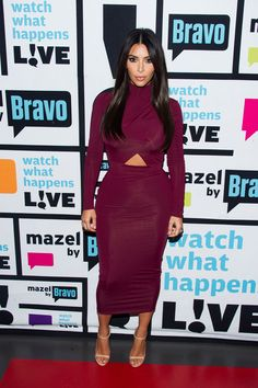 Kim Kardashian during an appearance on Watch What Happens Live