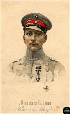 Joachim Prinz von Preußen, officier de cavalerie