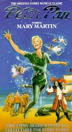 Peter Pan [VHS]: Mary Martin, Cyril Ritchard, Lynn Fontanne, Maureen Bailey, Margalo Gillmore, Sondra Lee, Joe E. Marks, Norman Shelly, Joey Trent, Kent Fletcher, Jacqueline Mayro, Edmund Gaynes, Vincent J. Donehue, Richard Halliday, J.M. Barrie, Jerome Robbins; Purchased for 50 cents at Deseret Industries in Provo in December 2014
