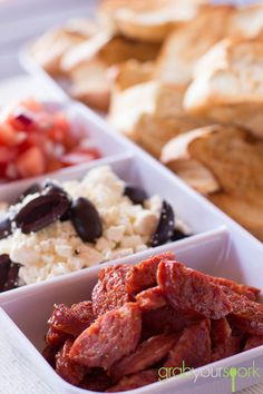 Make Your Own Bruschetta | Snacks | Recipes | Grab Your Spork