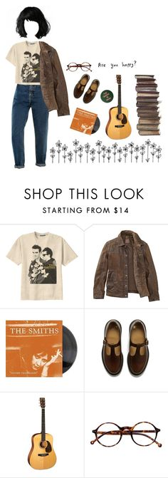 """morrissey fan"" by sbolger ❤ liked on Polyvore featuring Retrò, Timberland and Dr. Martens"