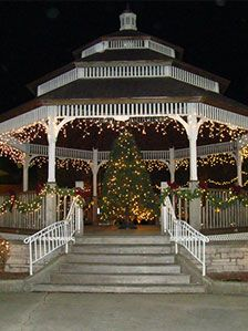 Christopher and I'll go back to Carlinville during Christmas to visit family.