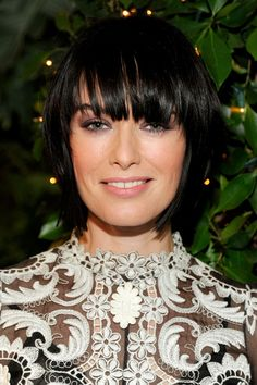 Pageboy variation on Lena Heady