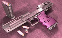 Image Detail for - Hello Kitty Desert Eagle handguns | Wallpapersus.com