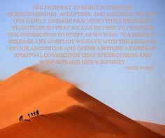 pathway to spirit