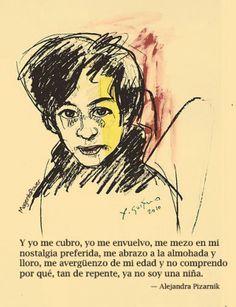 Poesía de Alejandra Pizarnik #Pizarnik