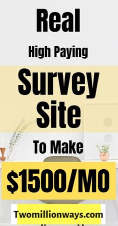 online paid surveys gives an excellent opportunity to work online surveys for money that helps people to make cash. Online survey works best for the one who wants to make money online and have their bills paid Earn Money From Surveys, Online Surveys That Pay, Survey Sites That Pay, Paid Surveys, Make Cash Online, Online Jobs From Home, Online Work, Online Writing Jobs, Extra Money