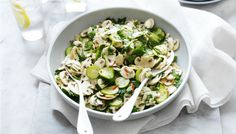 This quick and easy salad is the perfect accompaniment to a weekend lunchtime meal -wyza.com.au