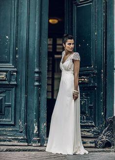 Robe Zola Laure de Sagazan #robe de mariée#wedding dress#dentelle#lace