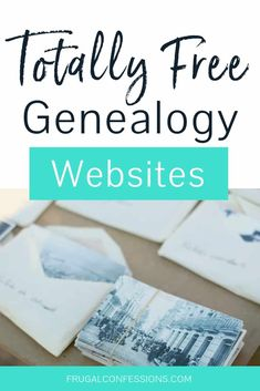 I can't wait to dive into more genealogy research. What I'm looking for are totally free genealogy websites so that I can afford to get to the bottom of some family tree mysteries. I love how this woman did her own genealogy research and projects, an Free Genealogy Records, Free Genealogy Sites, Genealogy Forms, Genealogy Search, Family Genealogy, Free Ancestry Search, Ancestry Websites, Genealogy Humor, Genealogy Chart