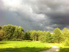 Thunderstorm in Alingsås, sweden