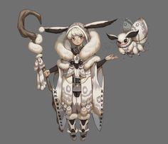 ArtStation - moth, Shasha .