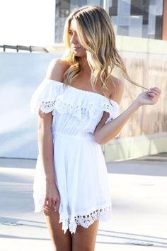 Vestido com Renda Helen - Ref.354 - DMS Boutique