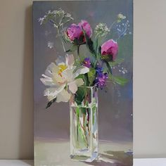 Kunst durch The post Kunst durch appeared first on Kunst. Easy Flower Painting, Oil Painting Flowers, Abstract Flowers, Oil Painting Abstract, Flower Art, Watercolor Art, Wow Art, Art Moderne, Pastel Art