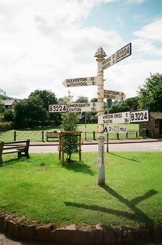 FINGERPOST: SOMERSET | ENGLAND